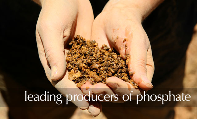 Leading producers of phosphate